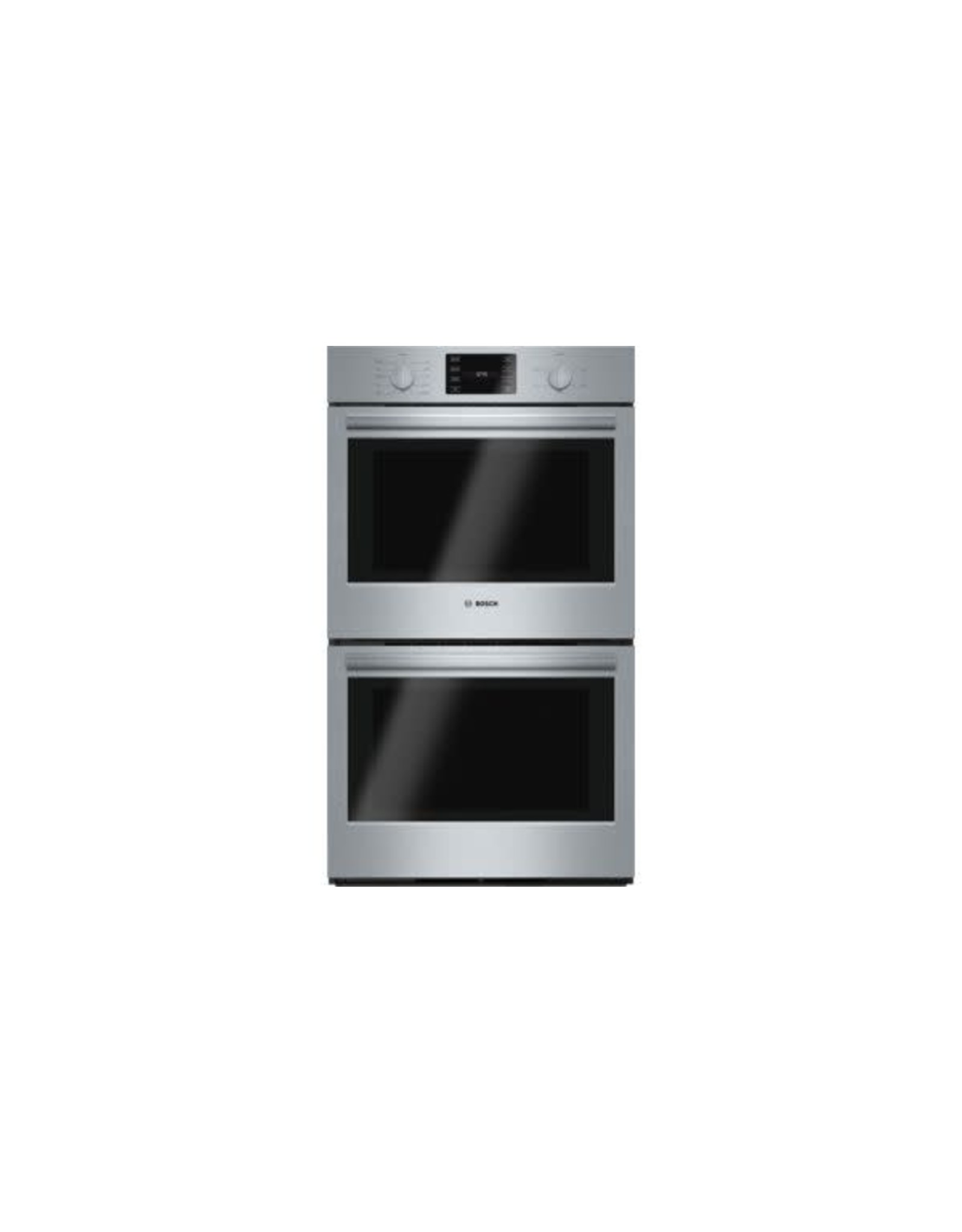 BOSCH HBL5651UC 500 Series 30 in. Double Electric Wall Oven with European Convection and Self Cleaning in Stainless Steel