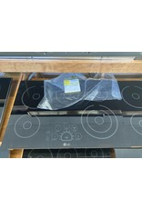 LG Electronics LCE3010SB /888 30 in. Radiant Smooth Surface Electric Cooktop in Black with 5 Elements