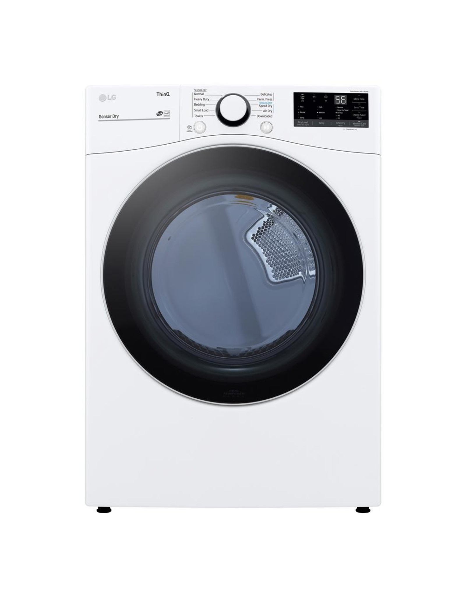 LG Electronics DLE3600W 7.4 cu. ft. White Ultra Large Capacity Electric Dryer with Sensor Dry