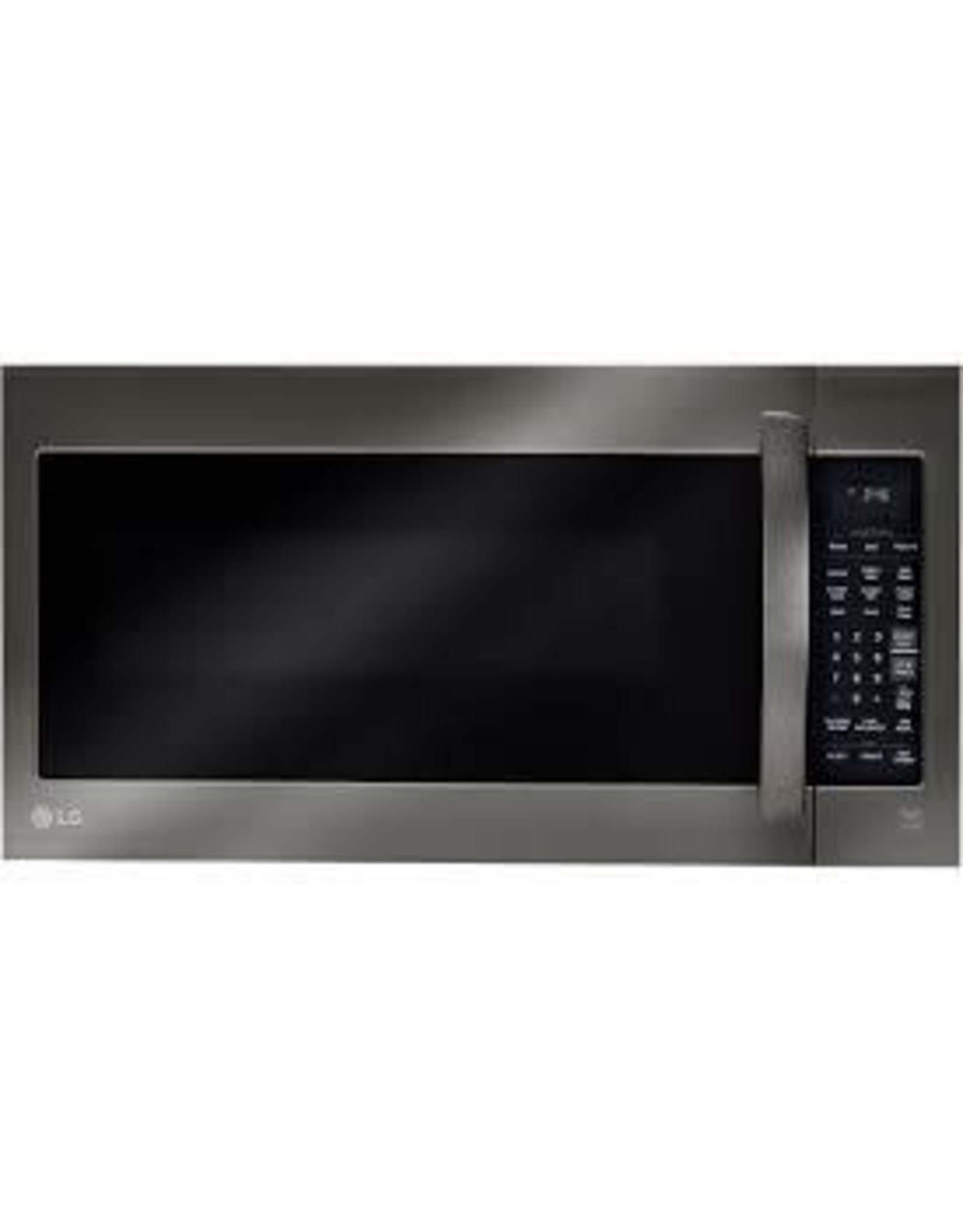 LG Electronics 2.0 cu. ft. Over the Range Microwave in Black Stainless Steel with EasyClean and Sensor Cook