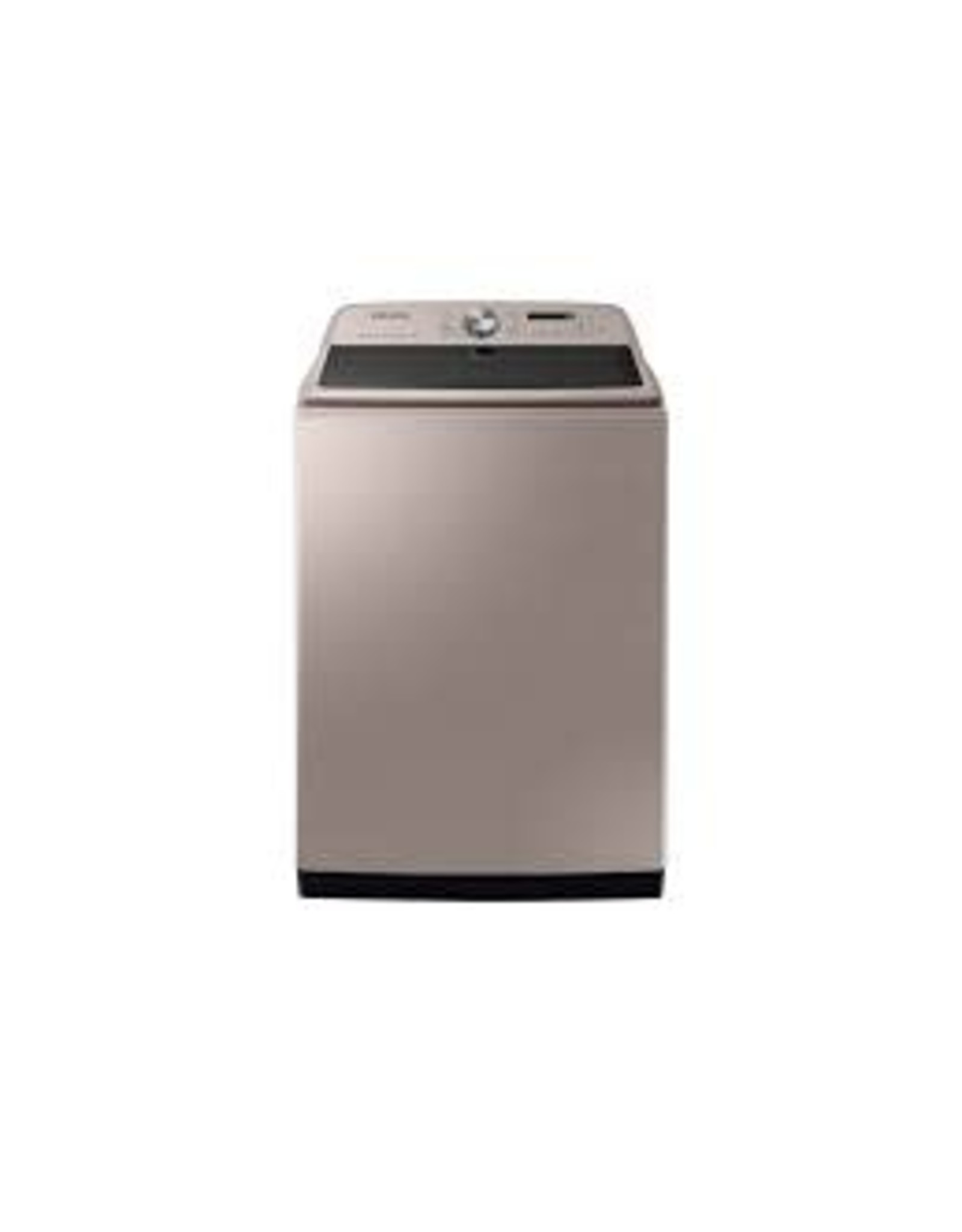 SAMSUNG WA54R7600AC Samsung 5.4 cu. ft. High-Efficiency Champagne Top Load Washing Machine with Super Speed and Steam, ENERGY STAR