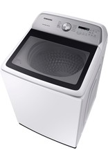 SAMSUNG Samsung 5.4 cu. ft. White Top Load Washing Machine with Active WaterJet, ENERGY STAR