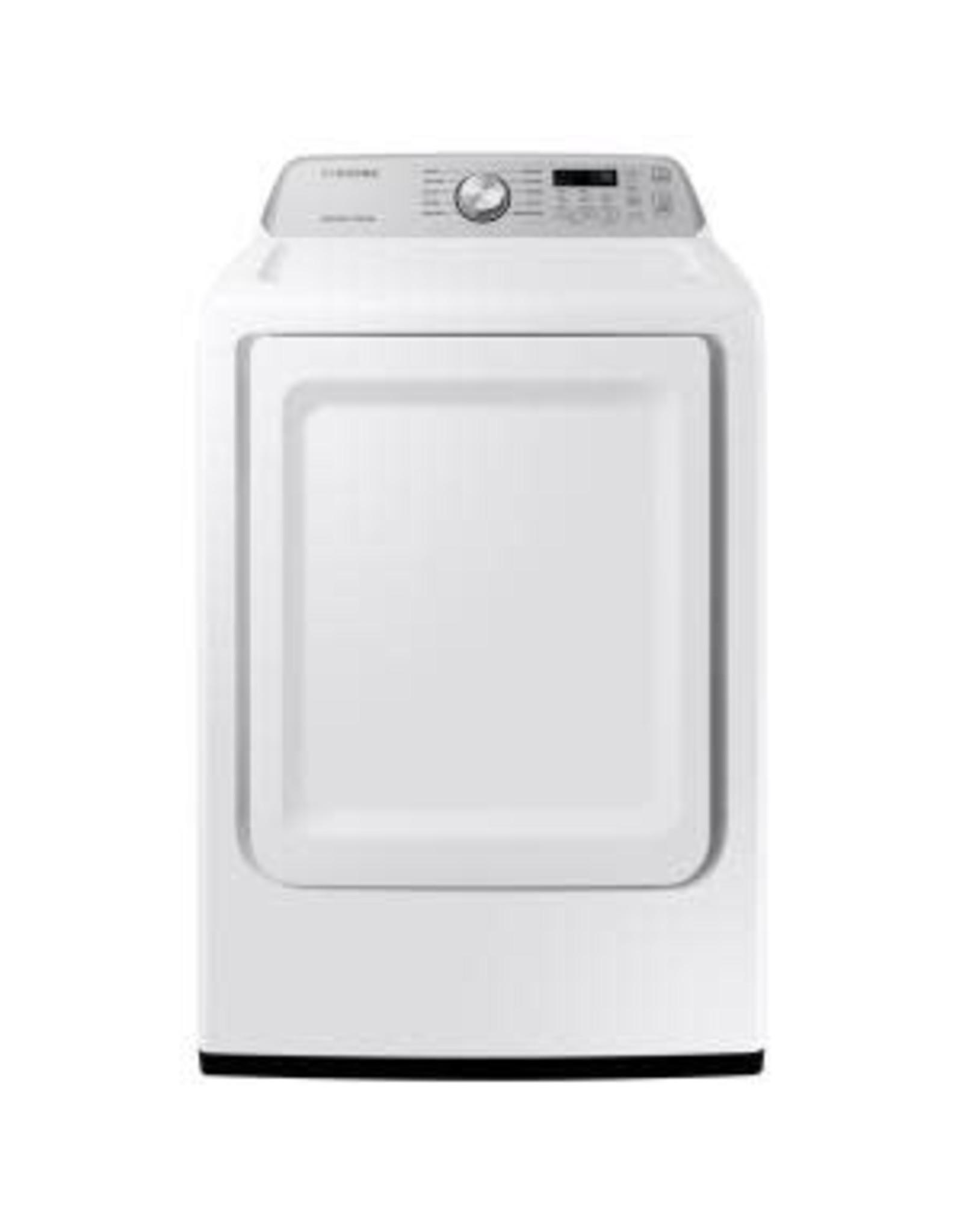 SAMSUNG DVG45T3400W 7.4 cu. ft. 120-Volt White Gas Dryer with Sensor Dry