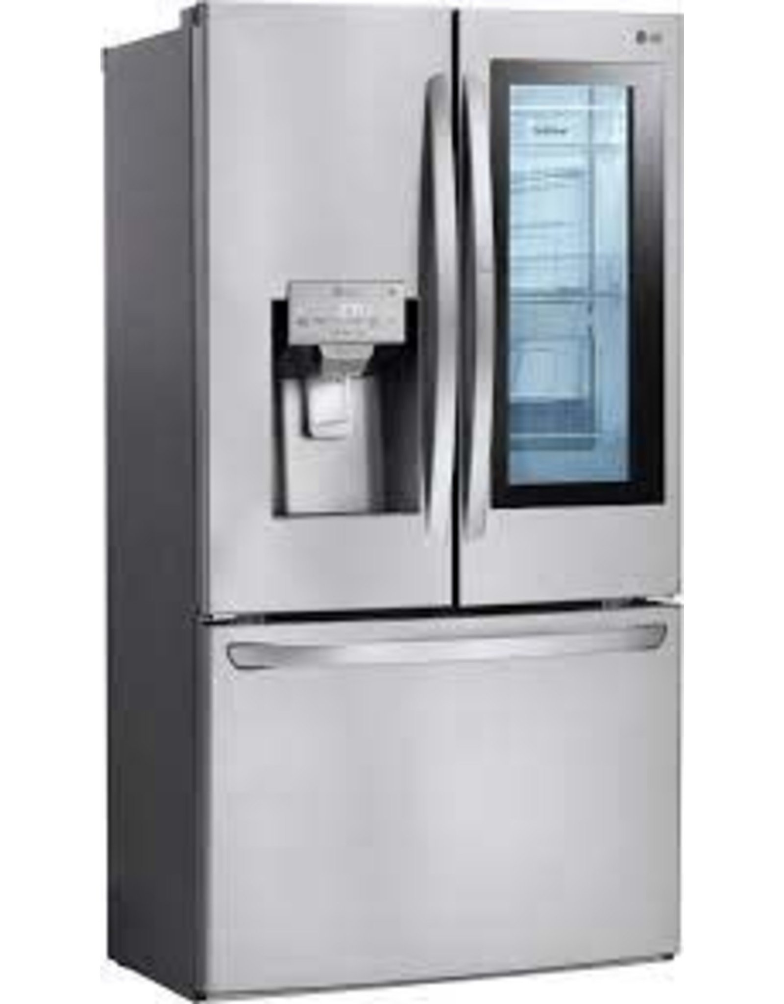 LG Electronics LFXS28596S 28 cu. ft. 3 Door French Door Smart Refrigerator with InstaView Door-in-Door in PrintProof Stainless Steel