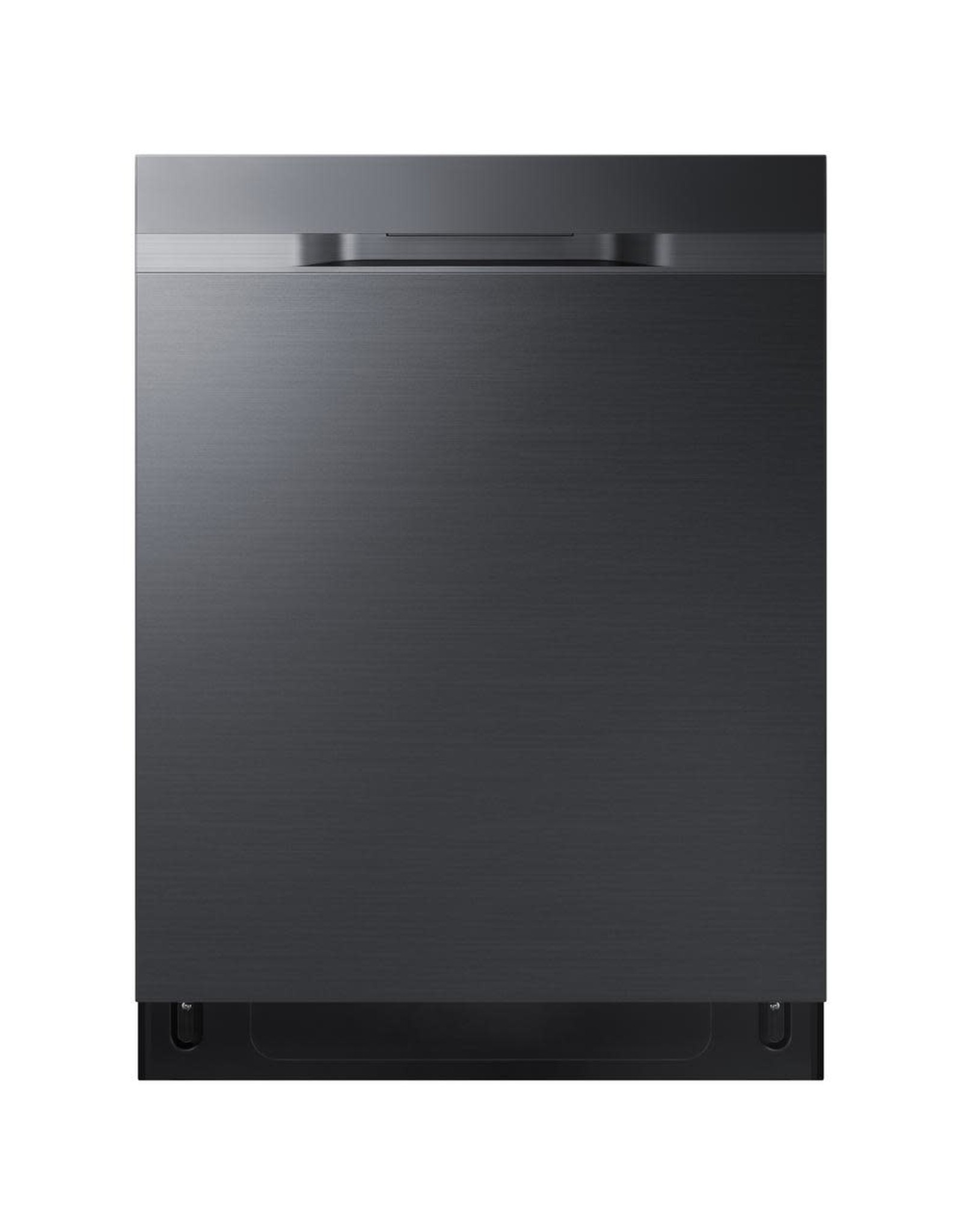 SAMSUNG Samsung 24 in Top Control StormWash Tall Tub Dishwasher in Fingerprint Resistant Black Stainless with AutoRelease Dry, 48 dBA