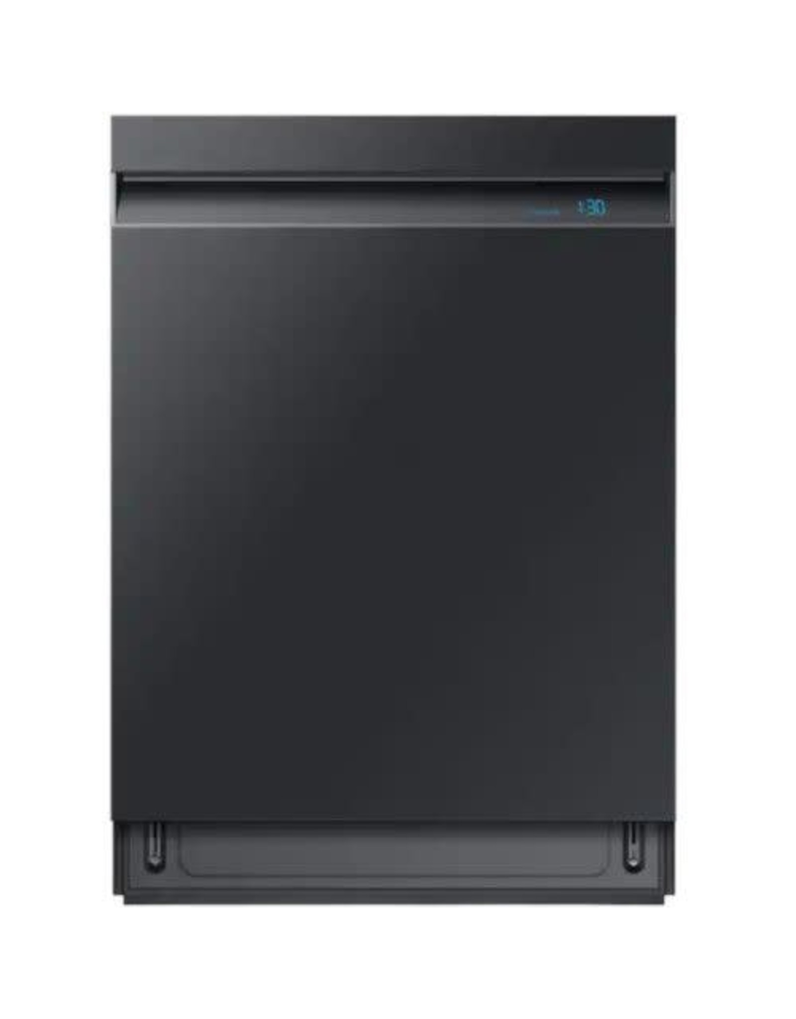 SAMSUNG DW80R9950UG Samsung 24 in. Top Control Linear Wash Tall Tub Dishwasher in Fingerprint Resistant Black Stainless, 3rd Rack, 39 dBA