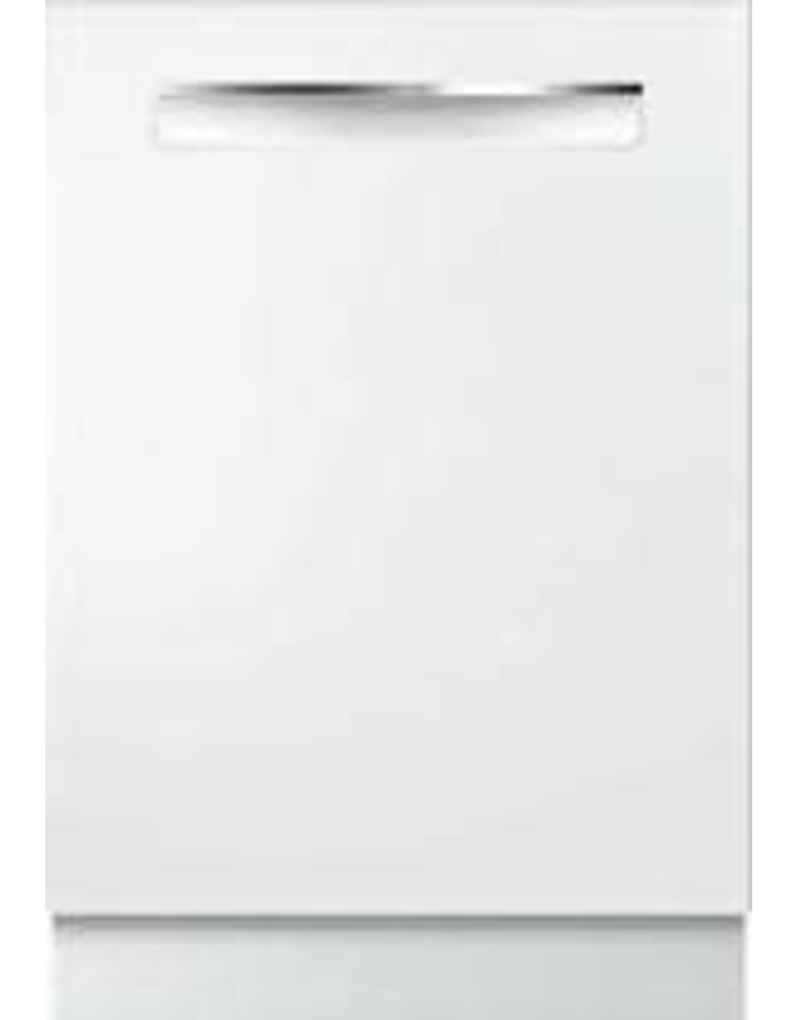 BOSCH SHPM65Z52N Bosch 500 Series Top Control Tall Tub Pocket Handle Dishwasher in White with Stainless Steel Tub, AutoAir, 44dBA