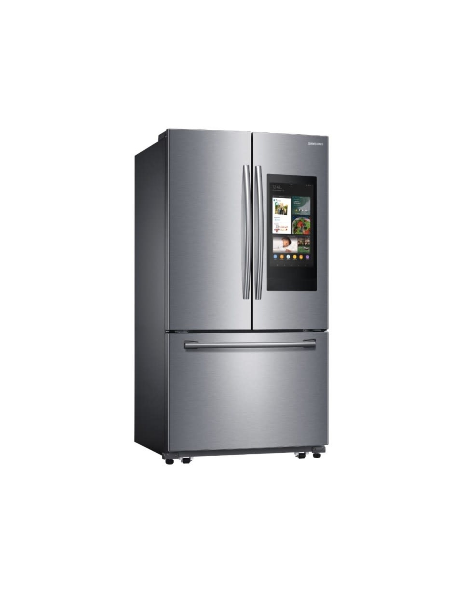 SAMSUNG RF262BEAESR 25.1 cu. ft. Family Hub French Door Smart Refrigerator in Stainless Steel