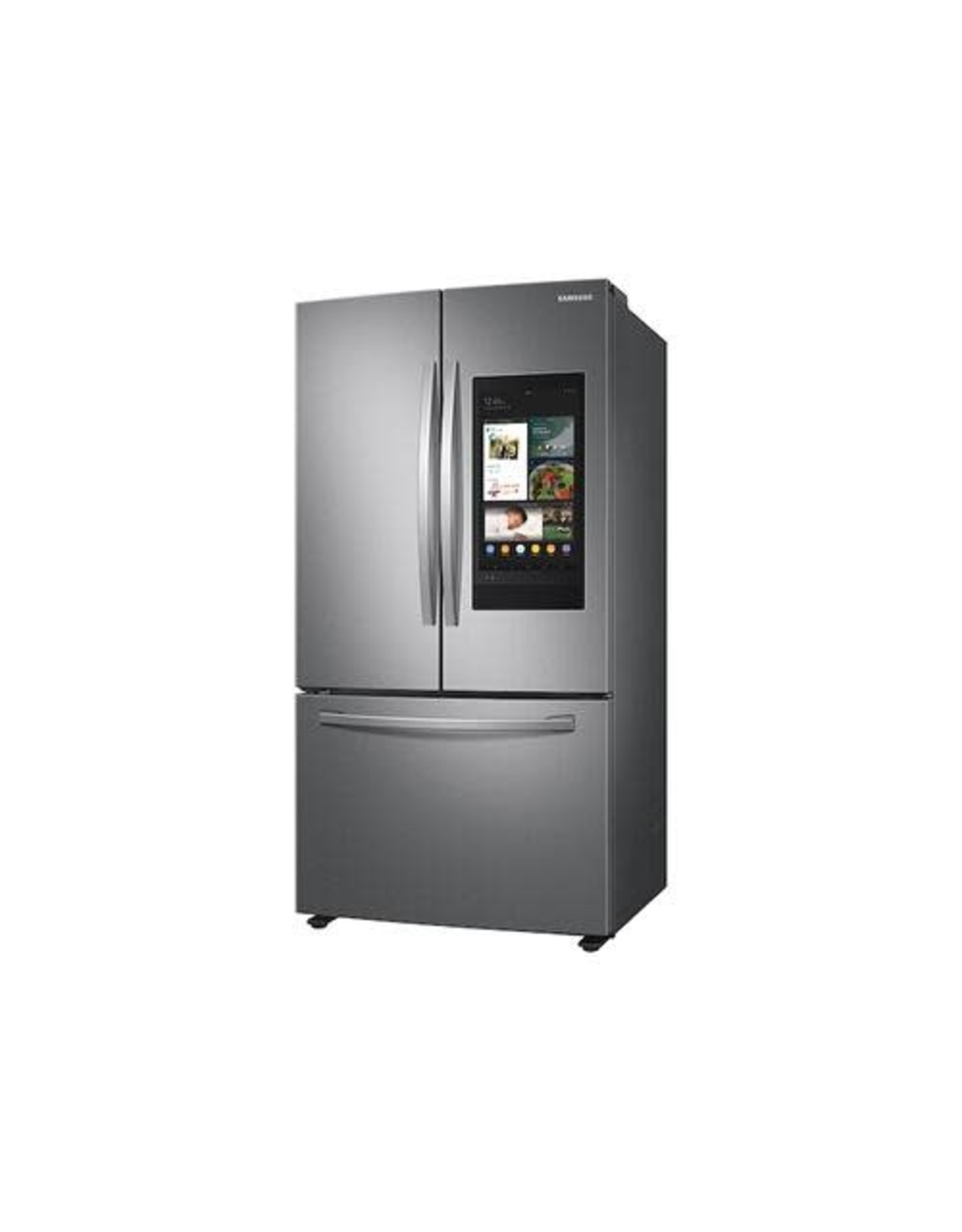 SAMSUNG RF28T5F01SR 27.7 cu. ft. French Door Refrigerator in Stainless Steel with Family Hub