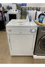 GE DSKP33EC6WW 3.6 cu. ft. 120-Volt White Stackable Electric Vented Portable Compact Dryer