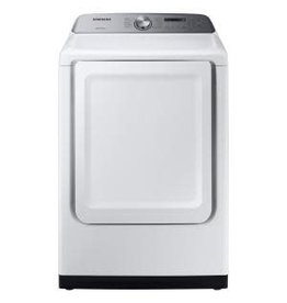 SAMSUNG DVG50R5200W  Samsung 7.4 cu. ft. White Gas Dryer with Sensor Dry