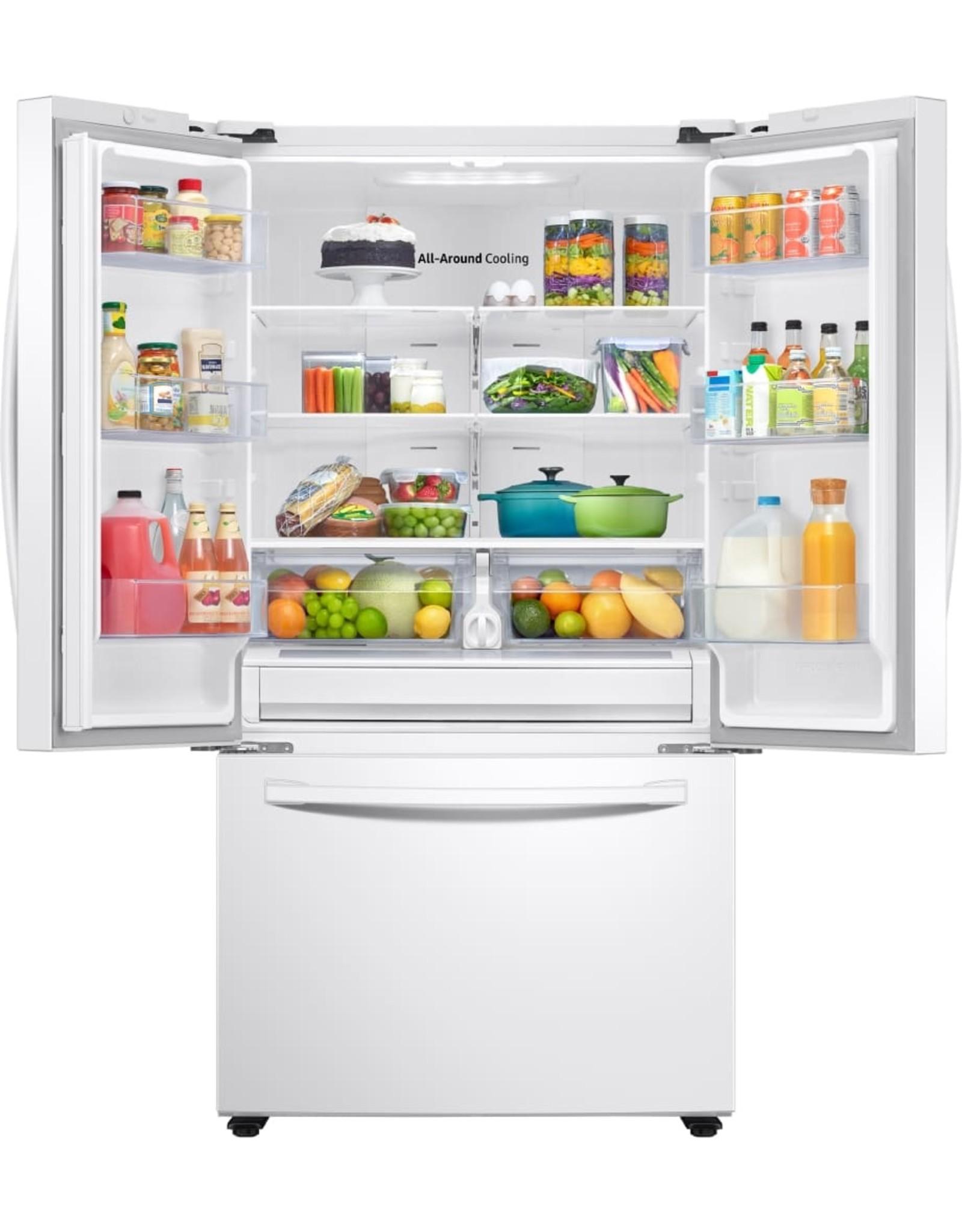 SAMSUNG 28.2 cu. ft. French Door Refrigerator in White