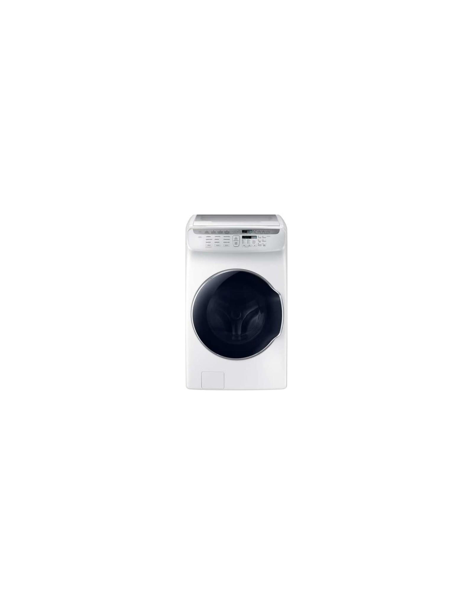 SAMSUNG WV55M9600AW Samsung 4.5 cf + 1.0 cf Flex Washer w/ Steam (White)