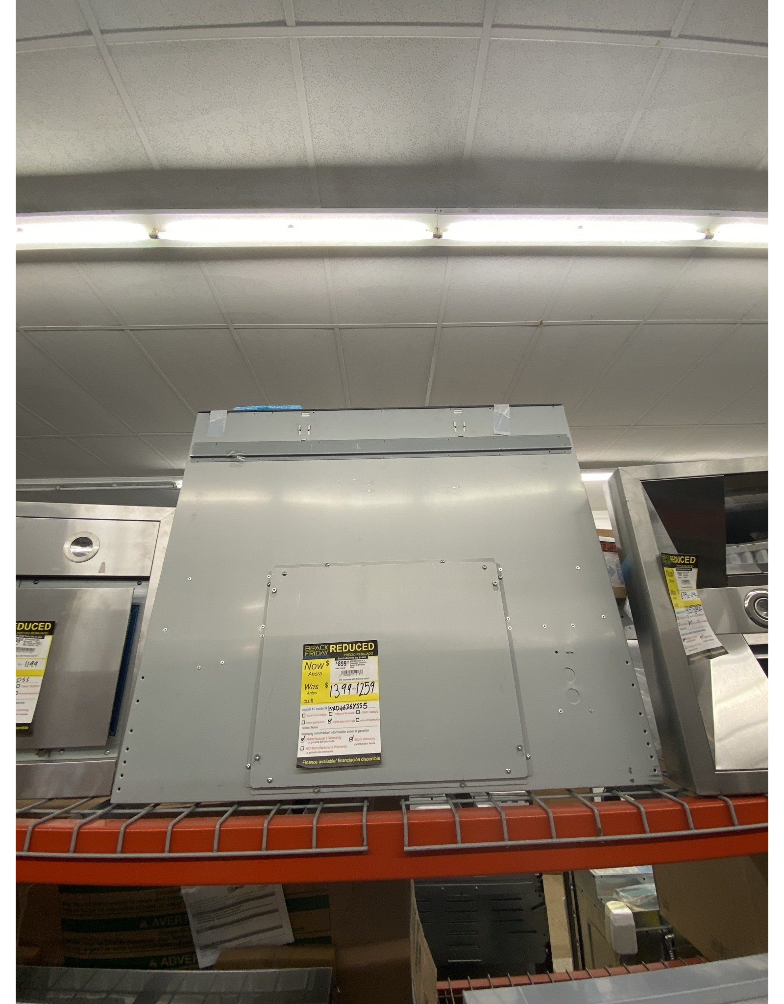 KXD4636YSS5 36 in. Telescopic Downdraft System in Stainless Steel
