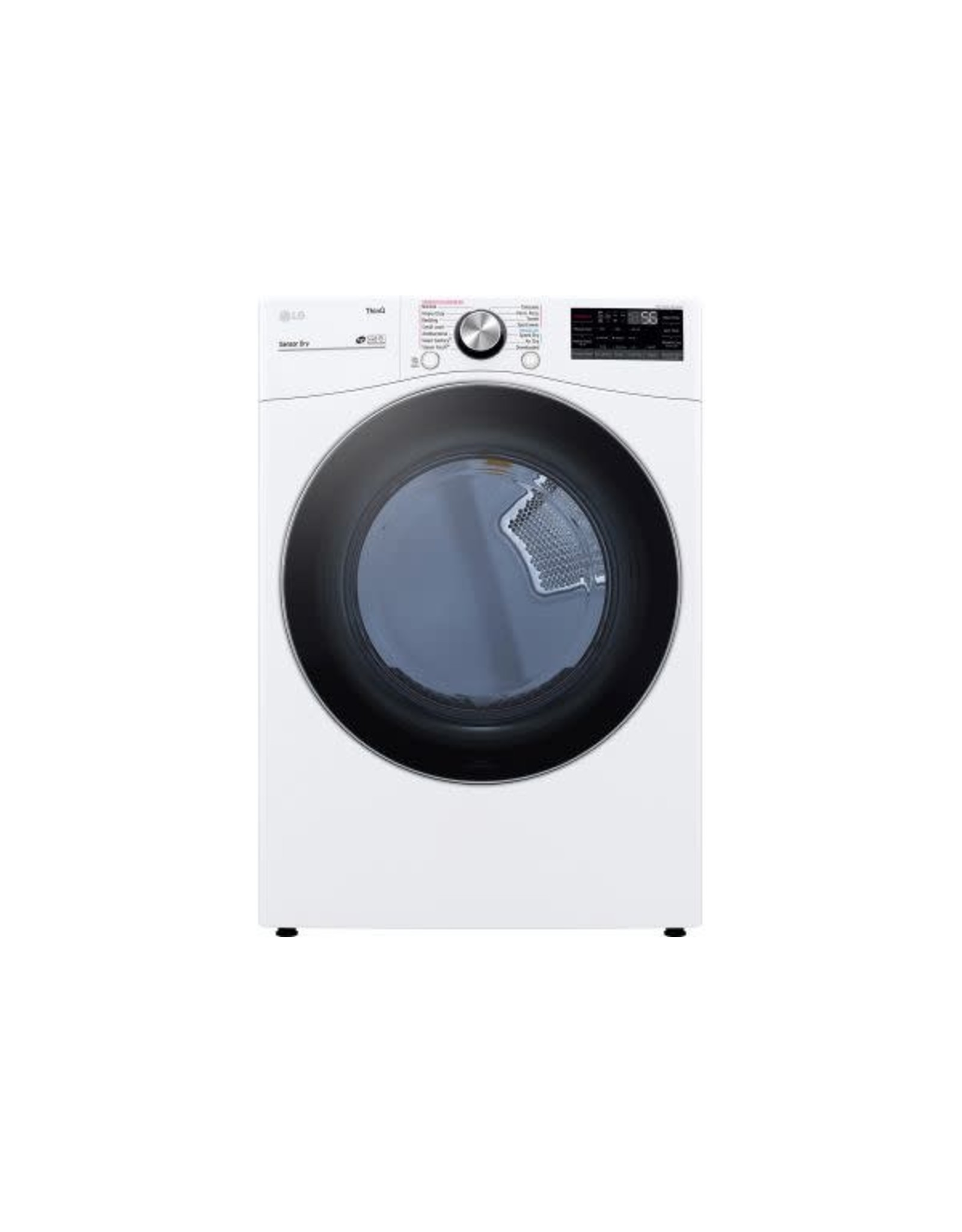 SAMSUNG DLEX4200W  7.4 cu. ft. Ultra Large Capacity White Smart Electric Vented Dryer with Sensor Dry, TurboSteam & Wi-Fi Enabled
