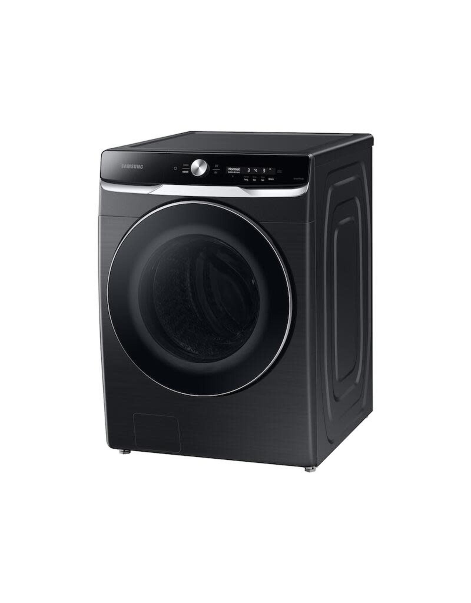 SAMSUNG WF50A8800AV 27 in. Wide 5.0 cu. ft. Extra-Large Brushed Black Front Load Washing Machine with Smart Dial and OptiWash