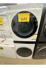 LG Electronics WKGX201HWA 27 in. White WashTower Laundry Center with 4.5 cu. ft. Washer and 7.4 cu. ft. Gas Dryer