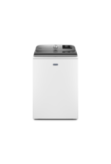 MAYTAG MVW7230HW 5.2 cu. ft. Smart Capable White Top Load Washing Machine with Extra Power Button, ENERGY STAR