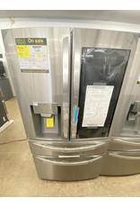 LG Electronics 29.7 cu. ft. Smart French Door Refrigerator, InstaView Door-In-Door, Dual and Craft Ice in PrintProof Stainless Steel