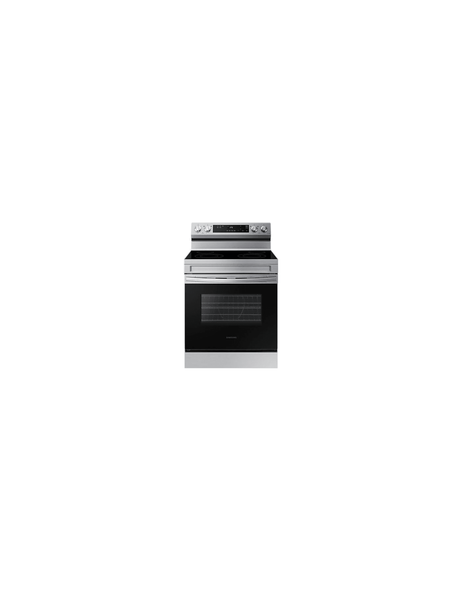 LG Electronics NE63A6111SS 6.3 cu. ft. Smart Freestanding Electric Range with Steam Clean in Stainless Stee