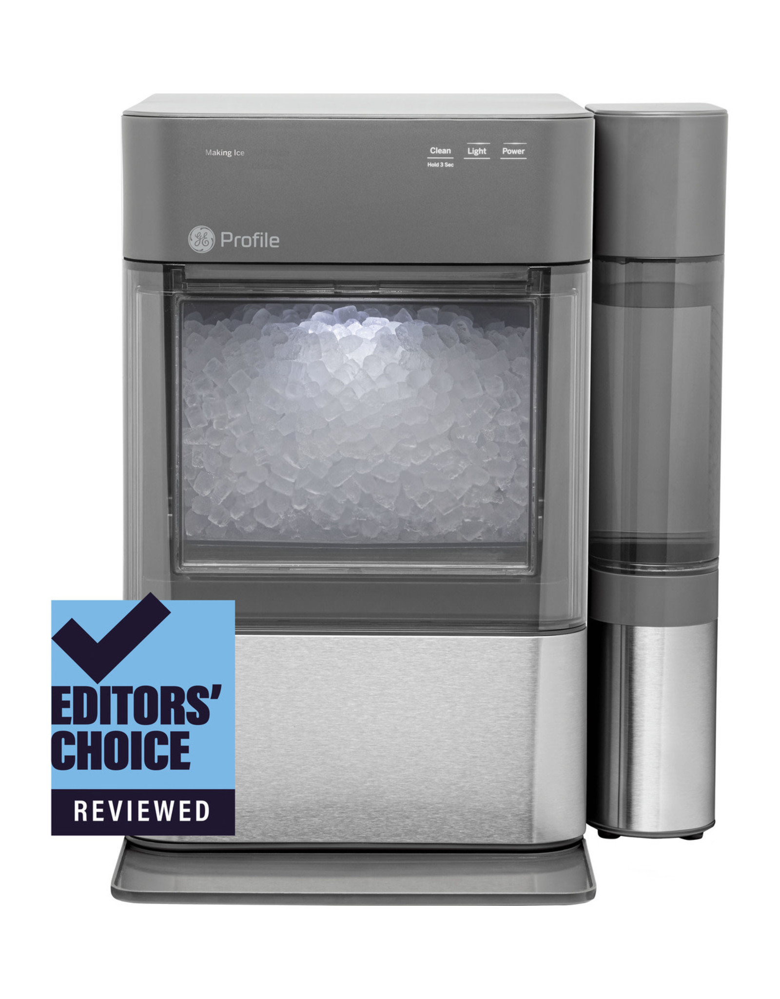 GE PROFILE XPIO13SCSS GE Profile™ Opal™ 2.0 Nugget Ice Maker with Side Tank