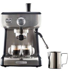 Calphalon 2090382 Temp IQ Espresso Machine with Steam Wand Stainless