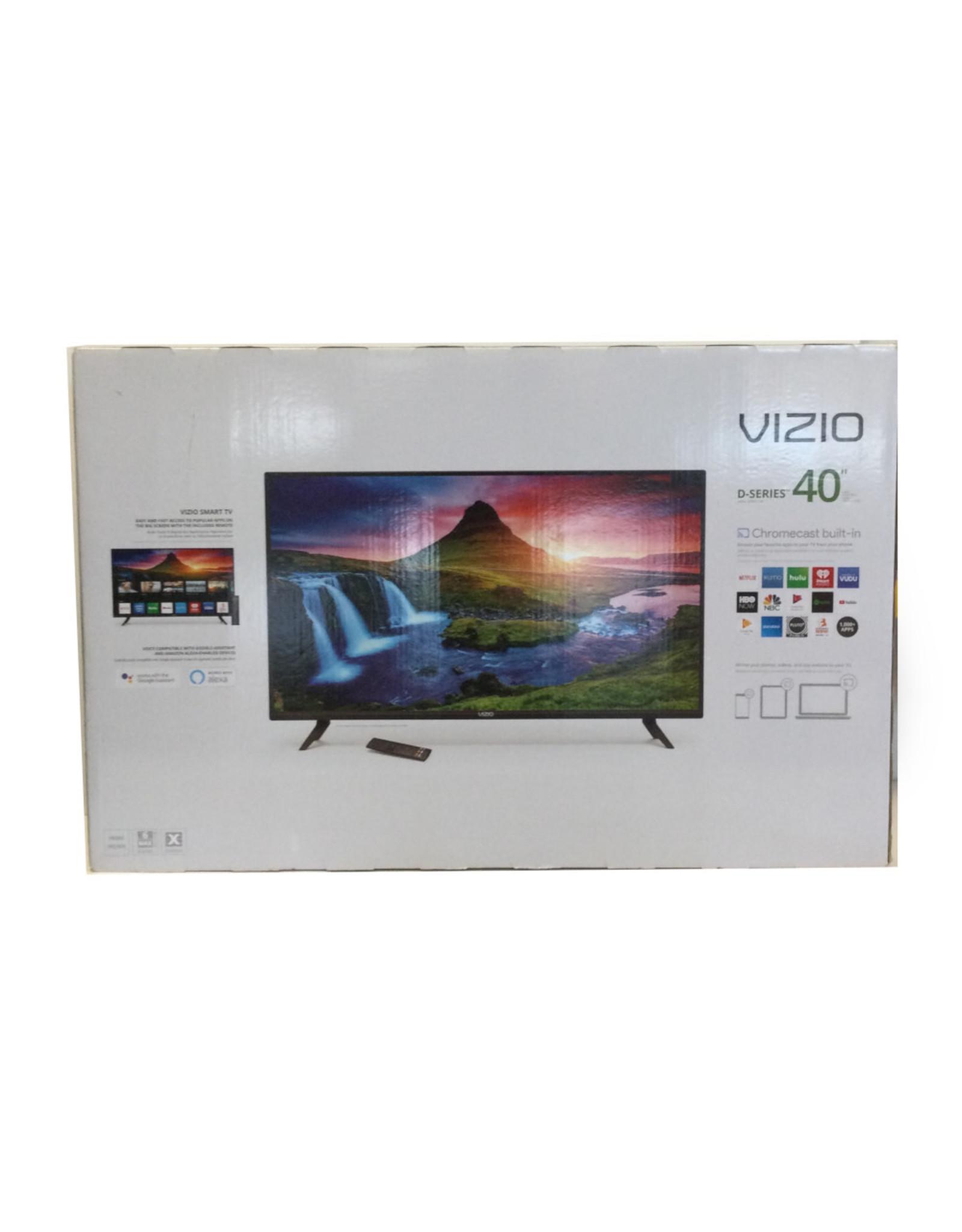 VIZIO VIZIO 40 inch Class D-Series LED Full 1080P HD SmartCast TV - D40F-G9 - New Seal