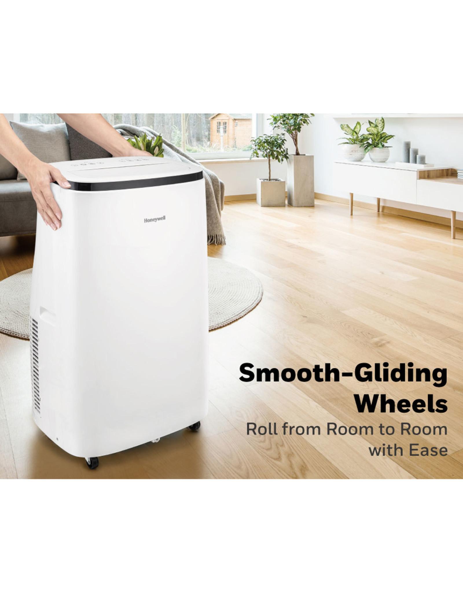 HONEYWELL HJ0CESWK7 Honeywell 10,000 BTU Contempo Series Portable Air Conditioner, Dehumidifier & Fan - White,