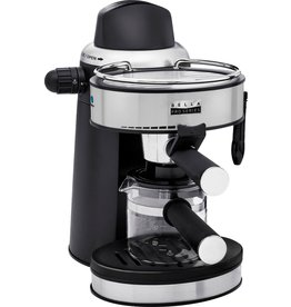Bella pro Bella Pro Series - Pro Series Espresso Machine with 5 bars of pressure and Milk Frother - Stainless Steel