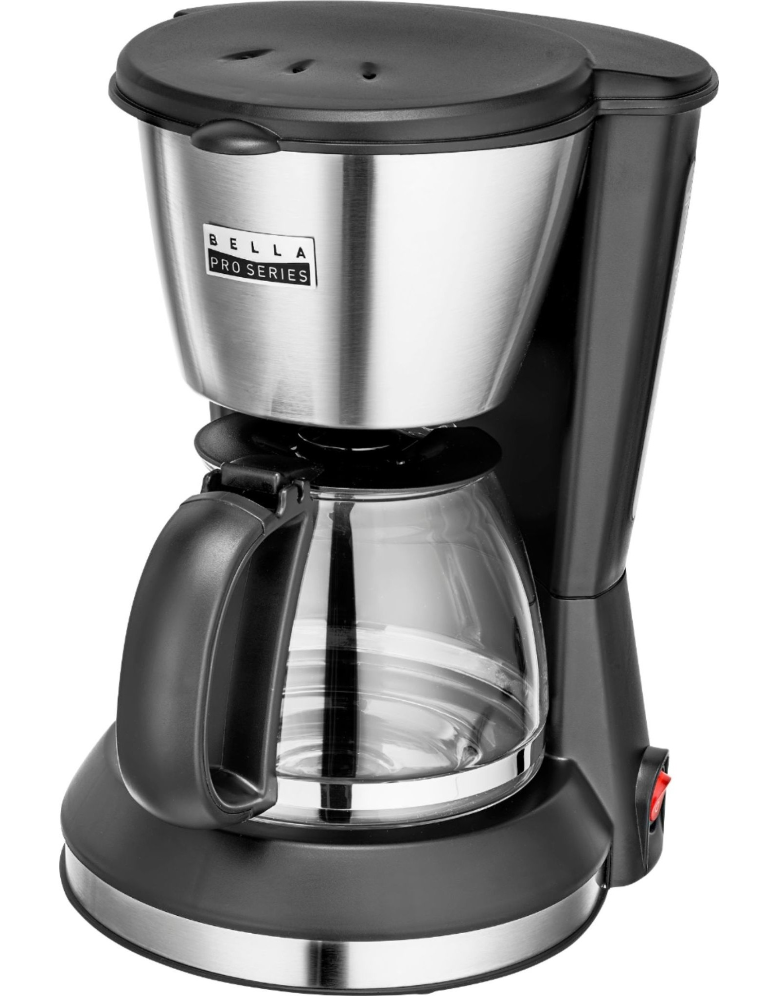 Bella pro 90071  Bella Pro Series - 5-Cup Coffee Maker - Stainless Steel