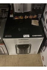 Bella pro RJ38-SQ-45T CHEFMAN - TurboFry Touch 4.5 Qt Digital Air Fryer – Silver - Stainless Steel
