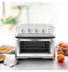CHEFMAN RJ50-SS-M20 CHEFMAN - Toast-Air® 6-Slice Convection Toaster Oven + Air Fryer - Silver