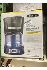 Bella pro 14830 Bella - 12-Cup Coffee Maker - Black/Stainless Steel