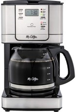 mr. coffee 2131084 Mr. Coffee - 12-Cup Coffee Maker with Strong Brew Selector - Stainless Steel