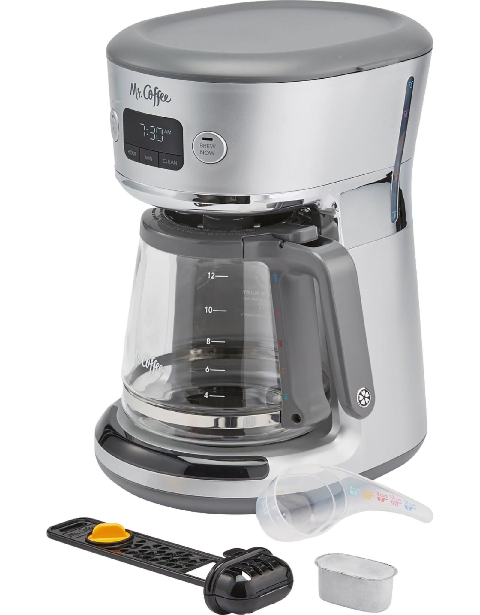 mr. coffee 31160693 Mr. Coffee - Easy Measure 12-Cup Coffee Maker - Silver