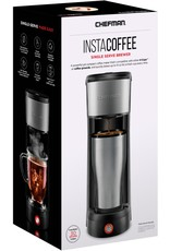 CHEFMAN RJ14-UB CHEFMAN - InstaCoffee Single Serve K-Cup Pod Coffee Maker - Stainless Steel