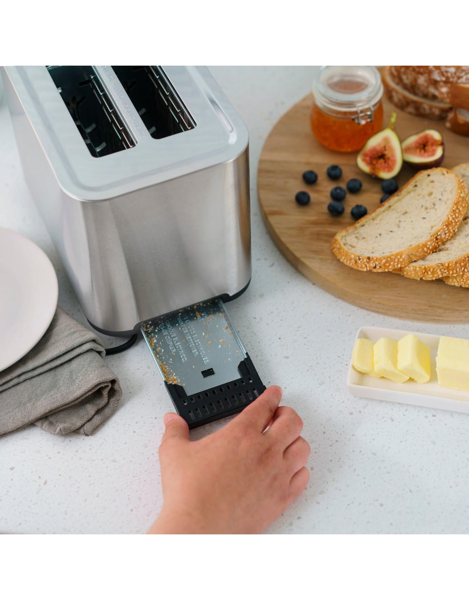 Bella pro 90104 Bella Pro Series - 2-Slice Digital Touchscreen Toaster - Stainless Steel