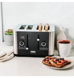 Bella pro 90105 Bella Pro Series - 4-Slice Digital Touchscreen Toaster - Stainless Steel