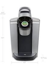 keurig 5000197492 Keurig - K-Elite Single Serve K-Cup Pod Coffee Maker - Brushed Silver