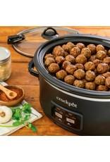 Crock-pot Crock-Pot - Cook & Carry Programmable 6-Quart Slow Cooker - Matte Black