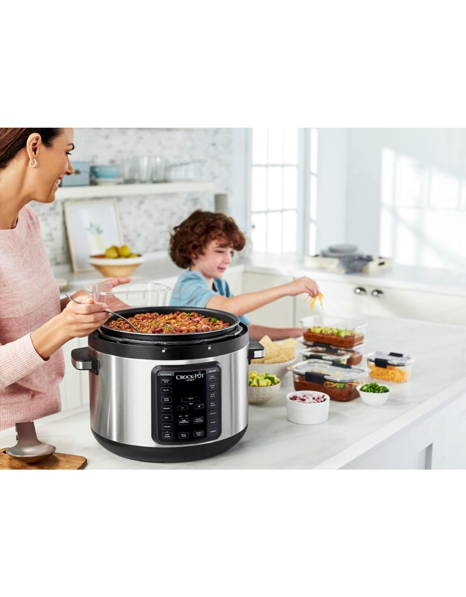 Crock-pot Crock-Pot - 10qt Digital Multi Cooker - Stainless Steel