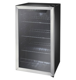 Insignia™ NS-BC115SS9 Insignia™ - 115-Can Beverage Cooler - Stainless steel