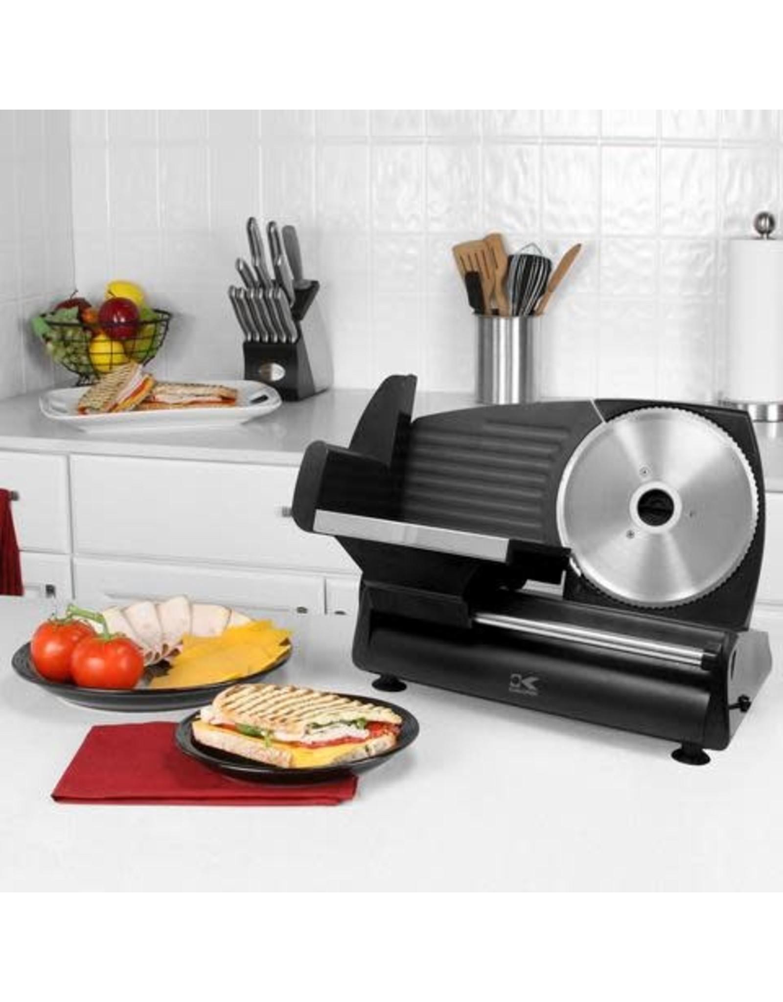 KALORIK AS 40763 BK Kalorik - 180 Watts Professional Style Food Slicer - Black