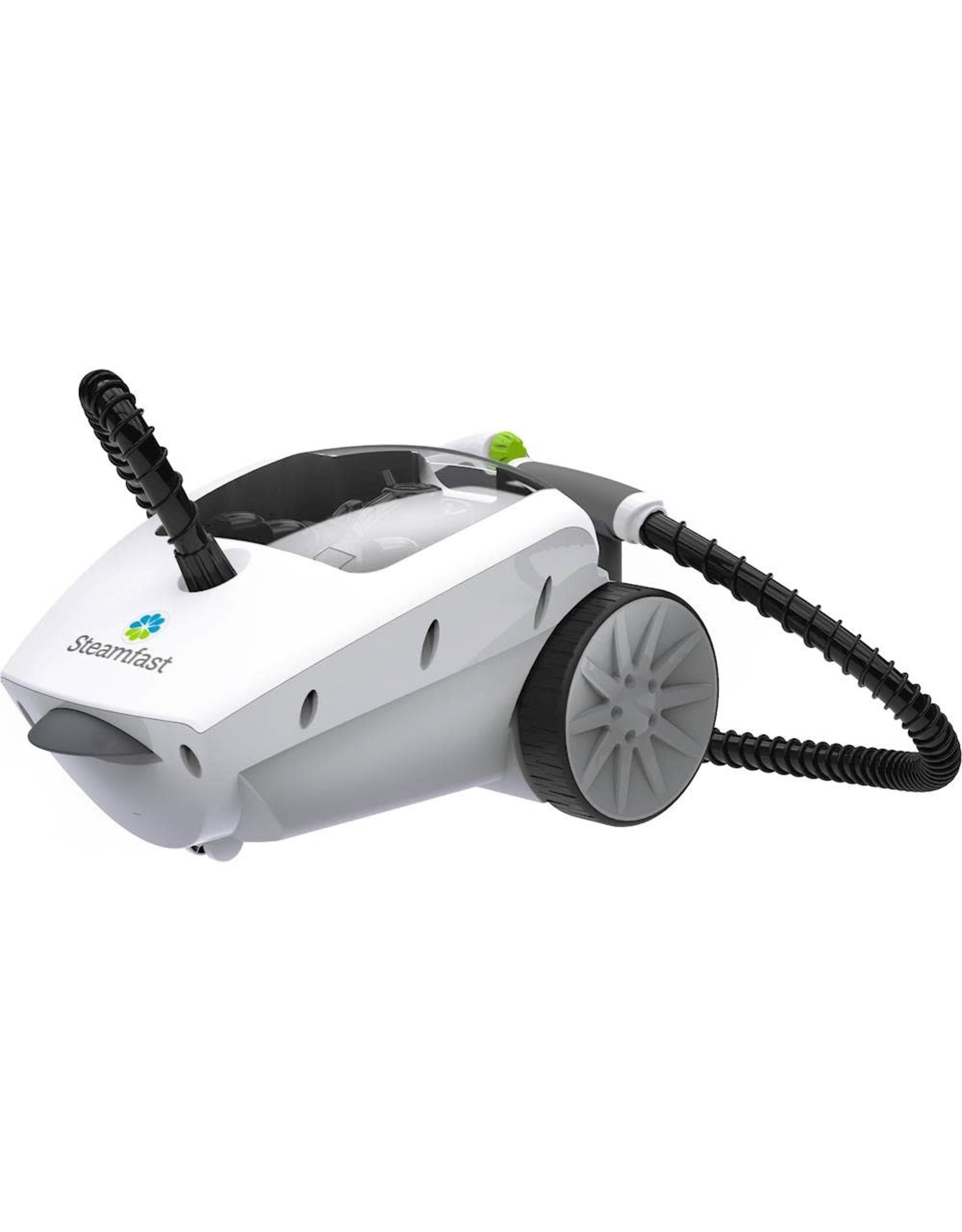 STEAMFAST SF-375 Steamfast - SF-375 Deluxe Corded Canister Steam Cleaner - White