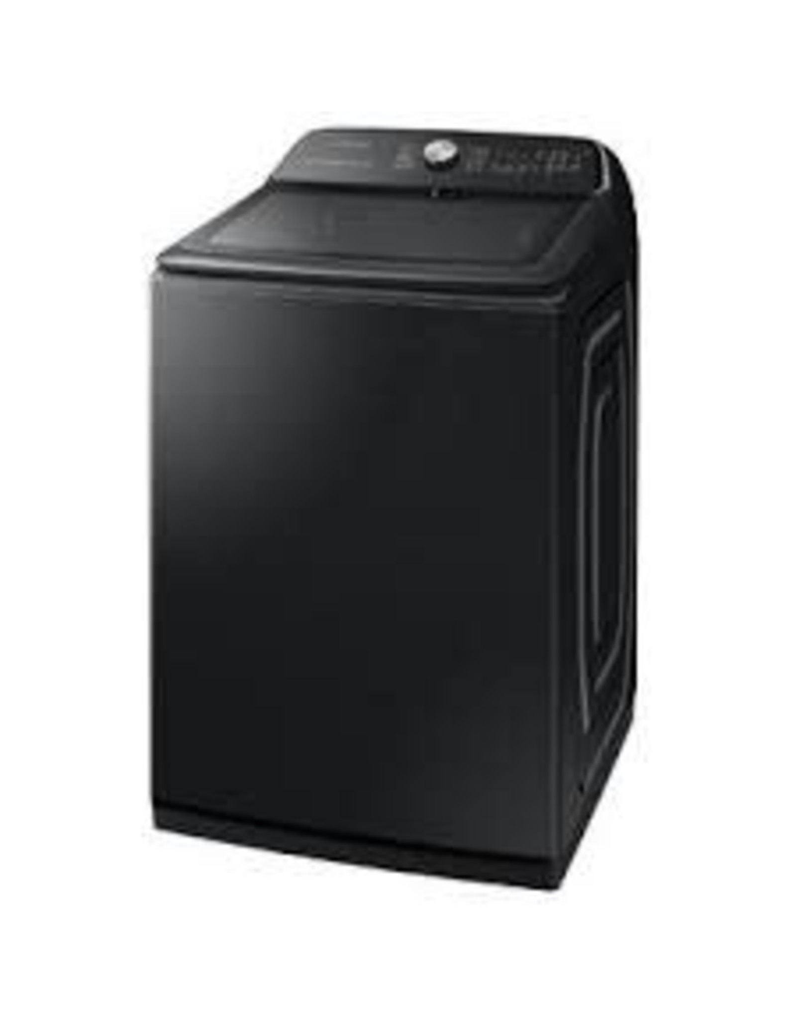 SAMSUNG Samsung 5.4 cu. ft. High-Efficiency Black Stainless Steel Top Load Washing Machine with Super Speed and Steam, ENERGY STAR