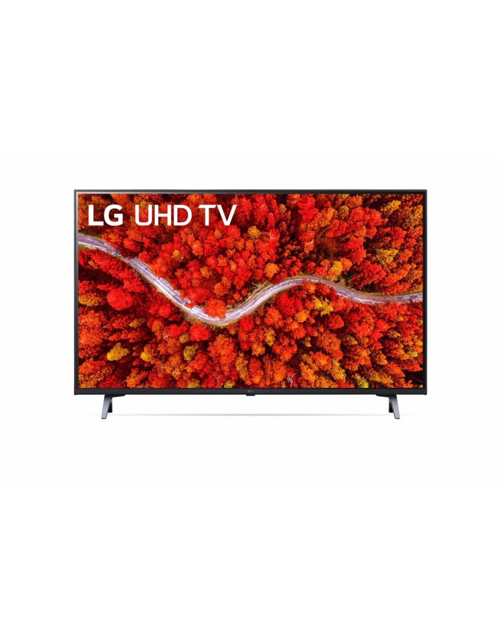 LG Electronics LG UHD AI ThinQ 65'' UP80 4K Smart TV, Procesador α5 AI, Magic Remote