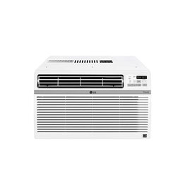 LG Electronics 10,000 BTU Window Smart (Wi-Fi) Air Conditioner with Remote, ENERGY STAR in White