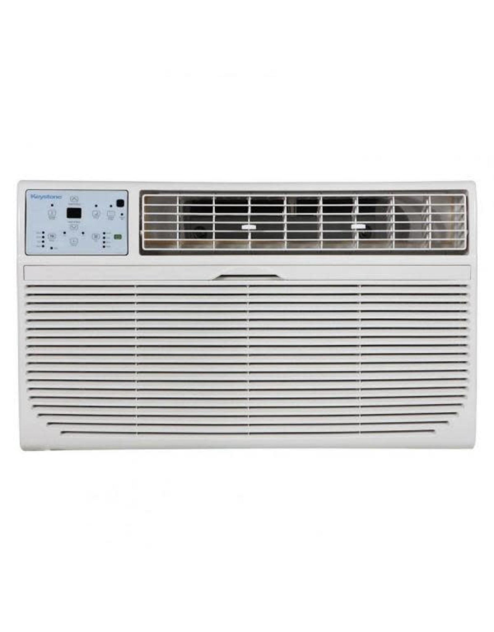 KEYSTONE KSTAT14-2HC  Keystone 14,000 BTU Thru-the-Wall Air Conditioner w/ Heat