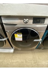 SAMSUNG 4.5 cu. ft. High-Efficiency Champagne Front Load Washing Machine with Steam and Super Speed