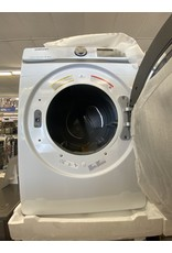 SAMSUNG DVE45R6300W 7.5 cu. ft. White Electric Dryer with Steam Sanitize+, ENERGY STAR